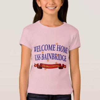 Willkommenes Zuhause USS Bainbridge T-Shirt