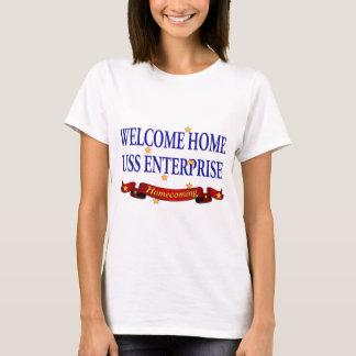 Willkommenes Zuhause USS Enterprise T-Shirt