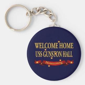 Willkommenes Zuhause USS Gunston Hall Schlüsselanhänger