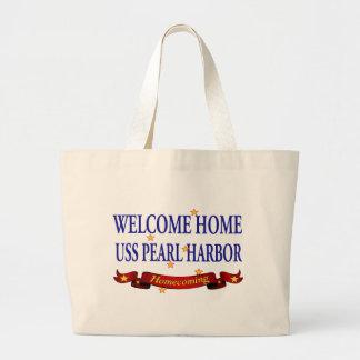 Willkommenes Zuhause USS Pearl Harbor Tasche
