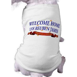 Willkommenes Zuhause USS Reuben James T-Shirt