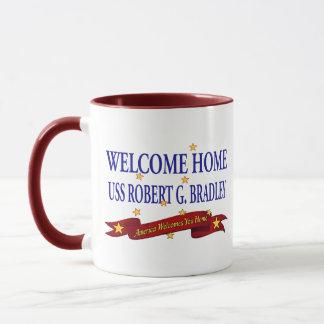 Willkommenes Zuhause USS Robert G. Bradley Tasse