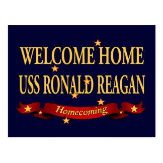 Willkommenes Zuhause USS Ronald Reagan Postkarte