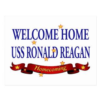 Willkommenes Zuhause USS Ronald Reagan Postkarten