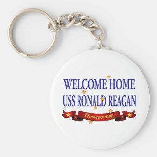 Willkommenes Zuhause USS Ronald Reagan Schlüsselanhänger