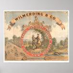 Wilmerding u. Co. Kentucky Whisky (1855A) Poster