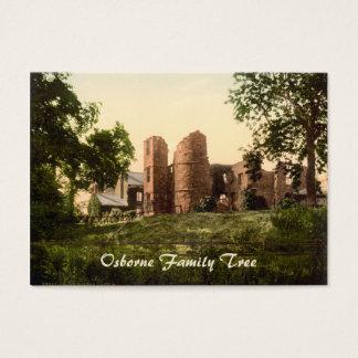 Wilton-Schloss, Ross-auf-Ypsilon, Herefordshire, Visitenkarte
