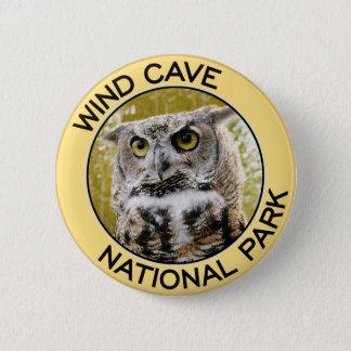 Wind-Höhlen-Nationalpark Runder Button 5,1 Cm