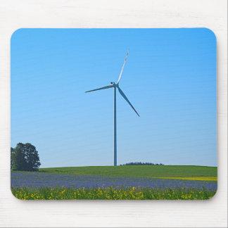 Wind-Power-Pflanze - Mousepad