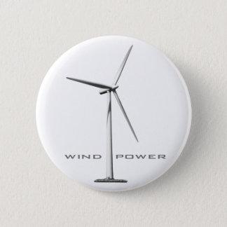 Wind-Power Runder Button 5,1 Cm