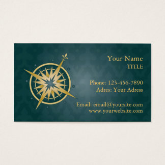 Wind-Rose Visitenkarte