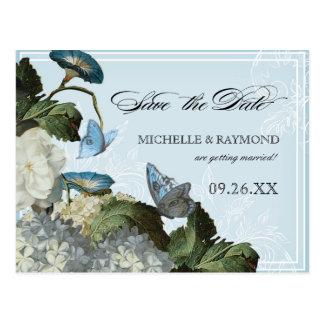 WindeHydrangea - Save the Date Postkarte