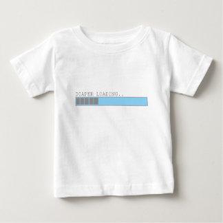 Windel, die lustigen Babykleinkind-Säugling poo Baby T-shirt