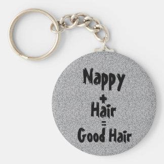 Windel-gutes Haar Keychain Schlüsselanhänger