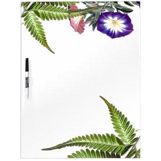 Winden-Blumen u. Farne trocknen Löschen-Brett Trockenlöschtafel