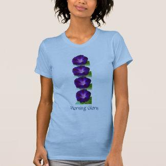 Winden-lila Blau T-Shirt