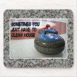 Winden - säubern Sie Haus Mousepad
