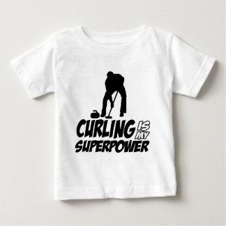 Winden von meiner Supermacht Baby T-shirt