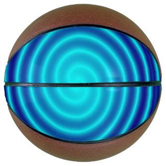 Windender blauer Schwindel Basketball