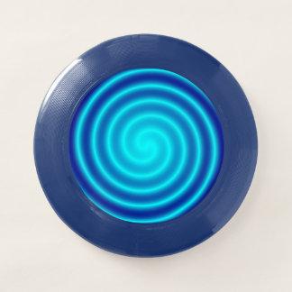 Windender blauer Schwindel Wham-O Frisbee