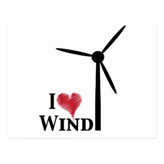 Windenergie der Liebe I Postkarte