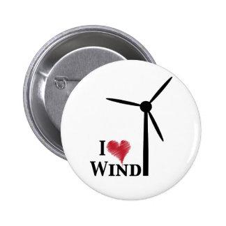 Windenergie der Liebe I Runder Button 5,7 Cm