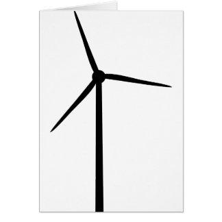 windenergy Powerumweltstrom Grußkarte