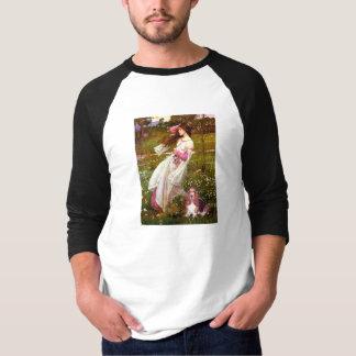 Windflowers - Basset Hound #1 T-Shirt