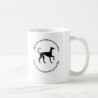 Windhund-irischer Segen Kaffeetasse