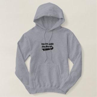 Windhund-Laufenswoosh-Gewohnheit personalisiert Hoodie