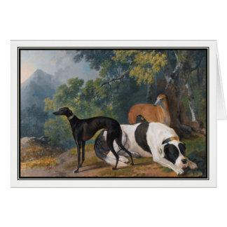 Windhunde und Mastiff durch Sawrey Gilpin Karte