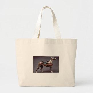 Windhundkarussell Zahl Einkaufstasche