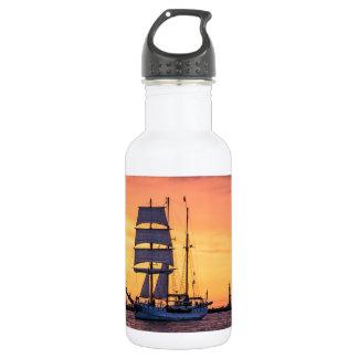 Windjammer auf der Ostsee Trinkflasche