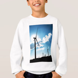 Windkraftanlage Sweatshirt