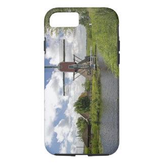 Windmühle entlang einem Kanal östlich von Leiden iPhone 8/7 Hülle