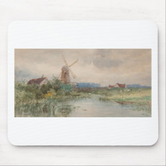 Windmühle, Holland durch Frederic Marlett Mousepads