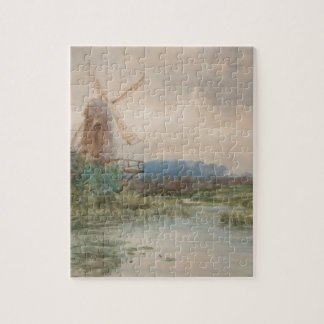 Windmühle, Holland durch Frederic Marlett Puzzle