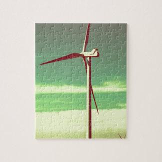 Windmühle Puzzle