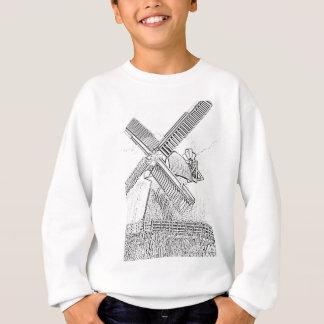 Windmühle Sketch.jpg Sweatshirt