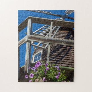 Windmühlen-Fotopuzzlespiel Puzzle