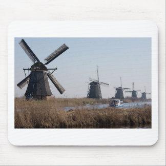 Windmühlen in den Niederlanden Mousepads