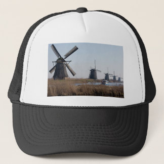 Windmühlen in den Niederlanden Truckerkappe