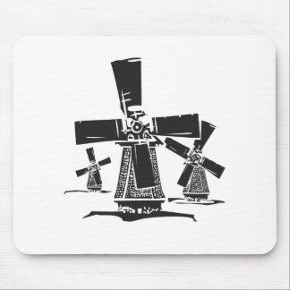 Windmühlen Mauspad