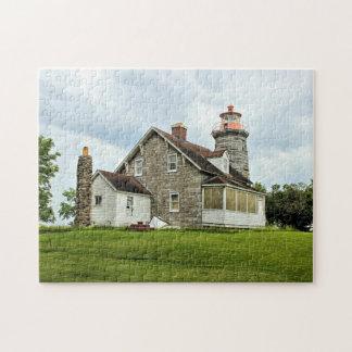 Windmühlen-Punkt-Leuchtturm, Puzzle Vermonts
