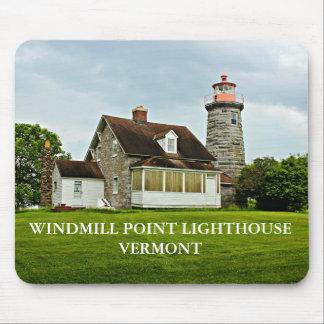 Windmühlen-Punkt-Leuchtturm, Vermont Mousepad