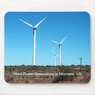 Windmühlen US Montana Mousepad