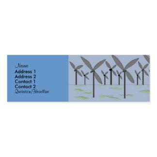 Windmühlen-Visitenkarten
