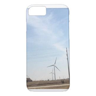 Windmühlentelefonkasten iPhone 8/7 Hülle