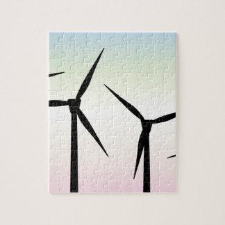 Windpark-Morgen Puzzle