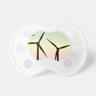 Windpark-Morgen Schnuller